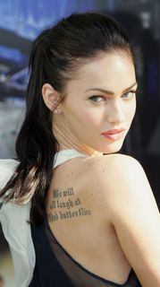 Megan.fox-tattoo-back